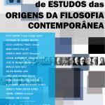 VI Encontro de Estudos das Origens da Filosofia Contemporânea