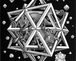 Escher - Stars